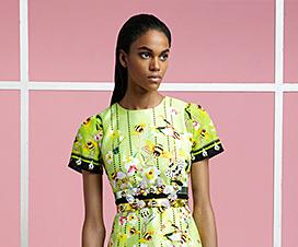 Piccione Piccione, яркие весенние наряды, весенняя мода 2015, летняя мода 2015, красивая одежда из натурального шелка