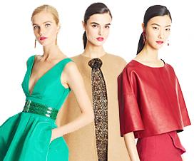 Осенне-зимние модные тенденции от Oscar de la Renta Pre-Fall 2015