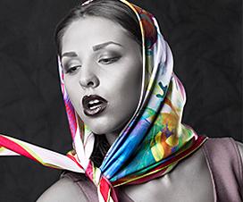 красивые шелковые шарфы, шелковый шарф, шелковый платок, Calaphya, Архан Наир