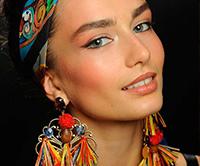 Модный летний макияж,  Модные тени, помада