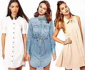 Платье рубашка 2015 модный тренд лета