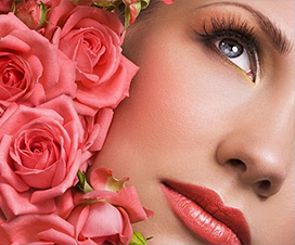 маска из розы, маска из лепестков роз, уход за кожай лица, омолаживание кожи